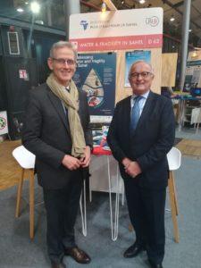 Emmanuel de Romémont et XX au Paris Peace Forum 2018